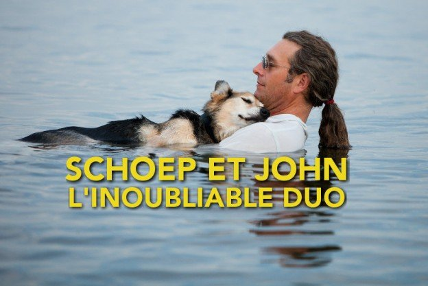 Schoep et John Unger l'inoubliable duo homme chien