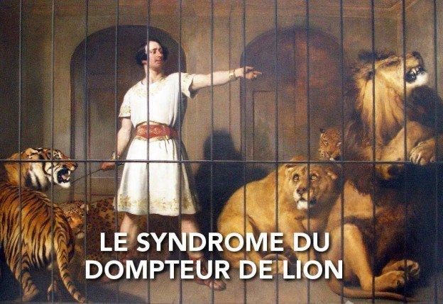 le syndrome du dompteur de lion chez les éducateurs canins